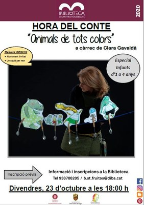HORA DEL CONTE ANIMALS DE TOTS COLORS.JPG