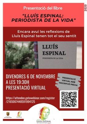 CARTELL PRESENTACIÓ LLIBRE ESPINAL..jpg