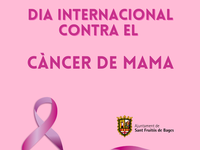 19 d'octubre, Dia Mundial contra el Càncer de Mama