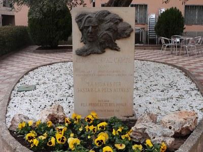 22 de març de 2020: commemoració dels 40 anys de l'assassinat del santfruitosenc Lluís Espinal Camps