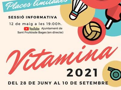 Arriba la catorzena edició del campus d'estiu Vitamina a Sant Fruitós de Bages