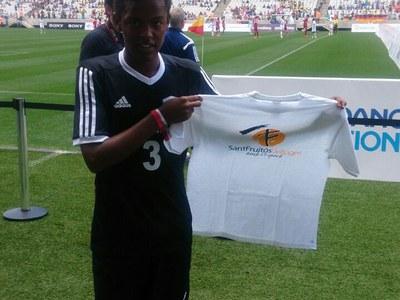 Aschalew Sanmartí arriba a la Fase Final del Mundial de la DNC 2014 a Sao Paulo