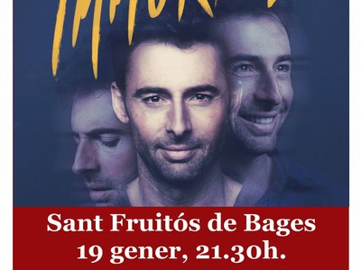 Bruno Oro presentarà el seu IMMORTAL a Sant Fruitós de Bages, el proper 19 de gener 2019.