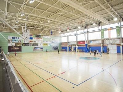 Comencen les obres de reforma dels vestidors del Pavelló d'Esports Municipal