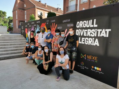 Commemoració del Dia Internacional de l'orgull LGTBI a Sant Fruitós de Bages