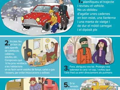 Consells preventius en cas de nevades