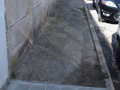 Continuen les millores en la mobilitat a peu al municipi