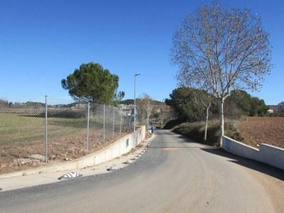L'Ajuntament il·lumina el camí Ral del municipi