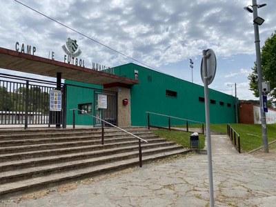 El camp de futbol municipal disposa de connexió a la xarxa de fibra òptica
