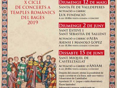 """El cicle """"Música i Romànic"""" tindrà el Monestir de Sant Benet de Bages com a un dels escenaris"""