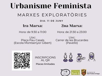 El Col·lectiu Mai sense Veu i l'Ajuntament organitzen marxes exploratòries per detectar els elements urbanístics que causen inseguretat a les dones