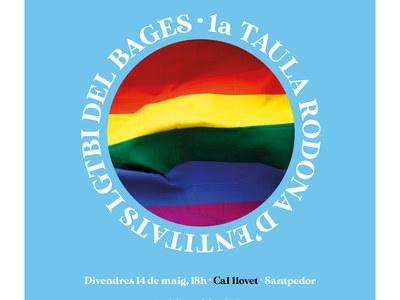 El col·lectiu santfruitosenc Santfree's Rainbow participa en la primera taula rodona d'entitats LGTBI+ del Bages