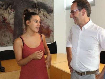 """El curtmetratge """"Nunca te dejé sola"""", de la santfruitosenca Mireia Noguera, s'estrenarà en primícia al Teatre Casal Cultural"""