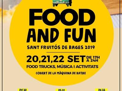 """El festival """"Food and Fun"""" fa parada a Sant Fruitós de Bages"""