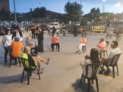 El Govern de Sant Fruitós de Bages es reuneix amb els veïns i veïnes de La Rosaleda per informar sobre diferents projectes a la urbanització