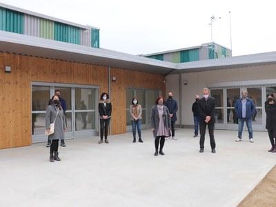 El govern municipal de Sant Fruitós de Bages visita la nova residència i escola per a infants amb discapacitat intel·lectual i autisme