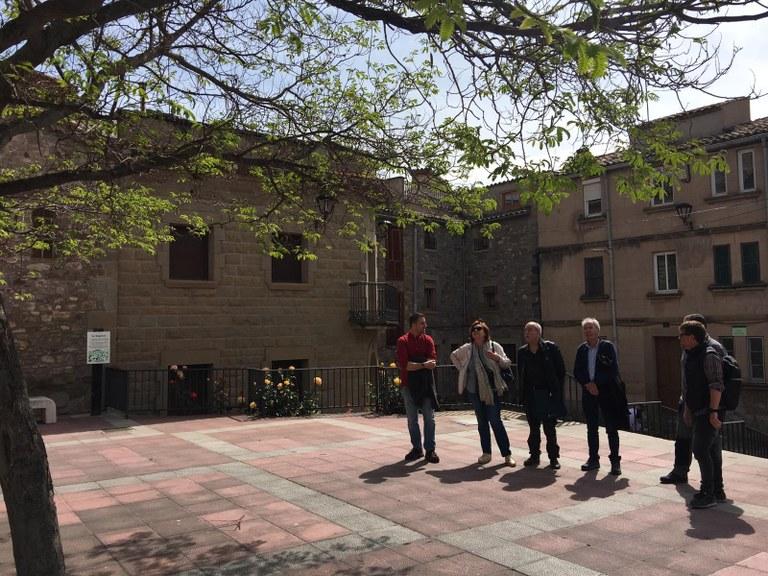 Visita del jurat pel municipi