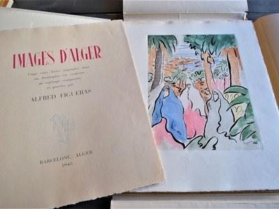 El llibre Images d'Alger d'Alfred Figueras es reedita 70 anys després de la seva publicació