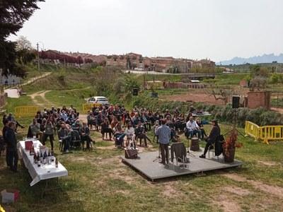 El maridatge de vins i poesia fa gaudir al públic assistent