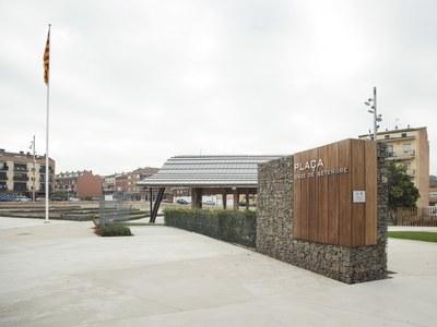 El memorial per recordar les víctimes i els herois de la pandèmia de la Covid-19 s'ubicarà a la plaça Onze de Setembre i tindrà com a element principal l'aigua