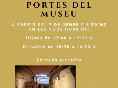 El Museu de la memòria de la Vinya i el Vi reobre portes el dia 7 de gener