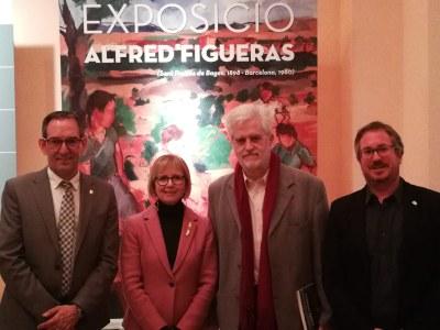 El Museu Deu de El Vendrell inaugura una exposició sobre la figura del pintor Alfred Figueras