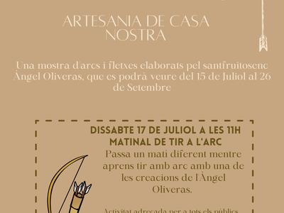 """El Museu Municipal acull la mostra """"L'art de l'arc. Artesania de casa nostra"""", d'Àngel Oliveras"""