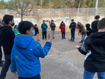 El NexeJove reprèn el projecte de dinamització de patis amb els alumnes de secundària del municipi
