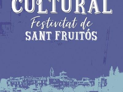 El pregó de la Festivitat de Sant Fruitós es trasllada al dissabte 23 de gener i es retransmetrà a través d'internet