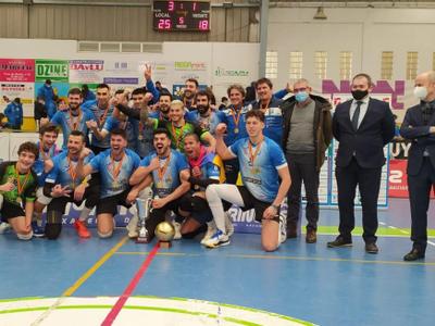 El santfruitosenc Arnau Caparrós es proclama campió de la Copa Príncipe de Vòlei