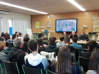 """Els alumnes de Batxibac descobriran l'obra """"Images d'Alger"""" d'Alfred Figueras íntegrament en francès"""