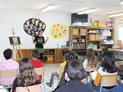Els infants de Sant Fruitós de Bages posaran nom a la nova residència i escola que AMPANS està a punt de posar en marxa al municipi
