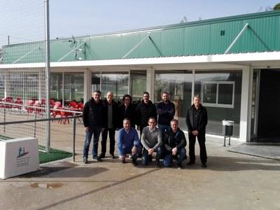 Entra en funcionament el nou bar del camp de futbol municipal
