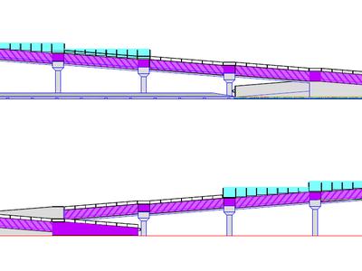 Es construirà una rampa per accedir a la passera de La Rosaleda