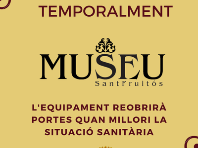 Es posposa l'obertura del Museu Municipal