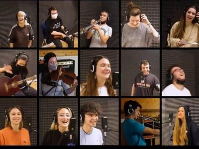 Es presenta la nova cançó i el videoclip del Nexe Espai Jove creats pel jovent del municipi