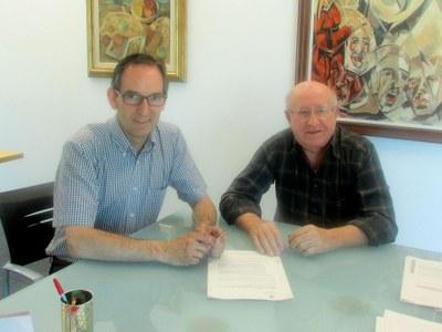 Es renova l'acord entre l'Ajuntament i la Unió Musical del Bages