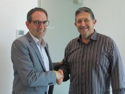 Es signa el conveni d'acord entre el setmanari Montpeità i l'Ajuntament
