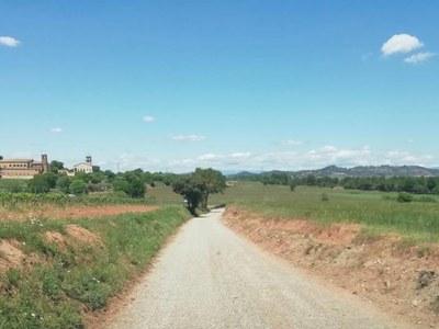 Finalitzen els treballs de millora dos camins del municipi