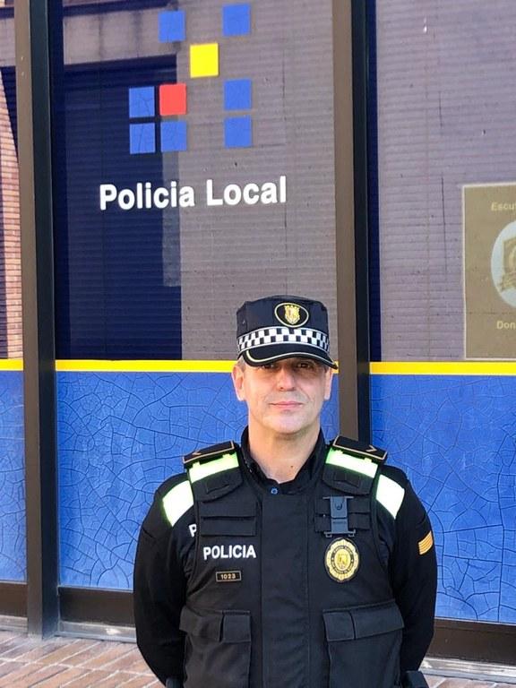 Josep Lluís Lorente Aparicio, nou cap de la Policia Local de SFB