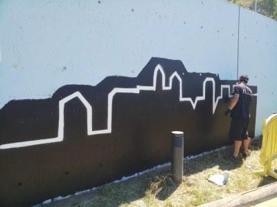 L'Ajuntament cedeix espais públics per tal que els grafiters pintin de forma legal