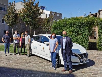 L'Ajuntament de Sant Fruitós de Bages adquireix un vehicle utilitari 100% elèctric