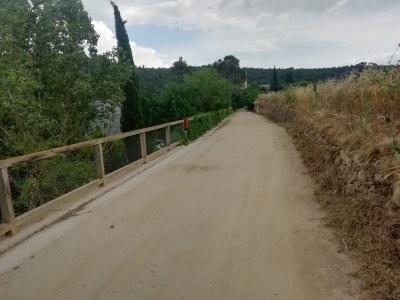 L'Ajuntament de Sant Fruitós de Bages ha recepcionat les obres d'urbanització a l'entorn de Sant Benet de Bages que passaran a ser de titularitat municipal