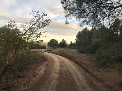 L'Ajuntament de Sant Fruitós de Bages millora els camins del municipi