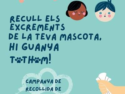 L'Ajuntament de Sant Fruitós de Bages programa una campanya de recollida de mostres d'ADN dels excrements d'animals a la via pública