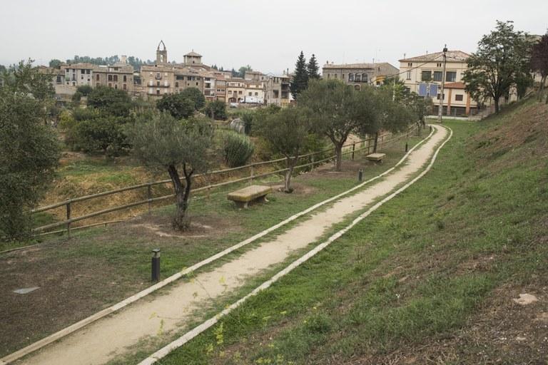 Entrada al municipi