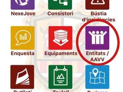 L'Ajuntament desenvolupa una nova eina digital per facilitar la comunicació amb les Associacions de Veïns