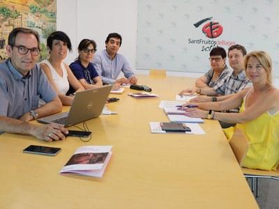 L'Ajuntament i Cáritas treballaran de forma conjunta per desenvolupar activitats de lluita contra l'exclusió social a Sant Fruitós de Bages