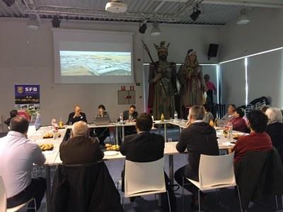 L'Ajuntament i empresaris del municipi es troben per intercanviar visions sobre el teixit empresarial