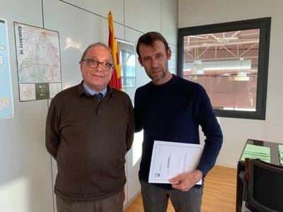 L'Ajuntament presenta la nova regidoria de Món Rural al Departament d'Agricultura, Ramaderia, Pesca i Alimentació